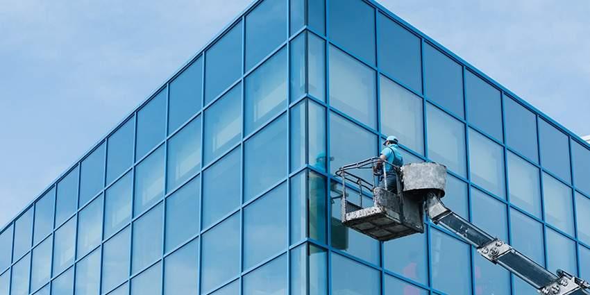 Glasreinigung Fassadenreinigung
